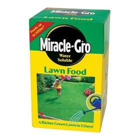 Miracle-Gro Water Soluble Lawn Food 1kg Carton 482959