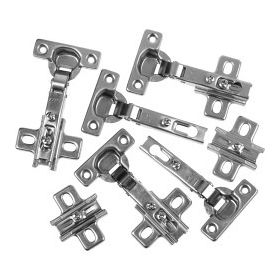 SupaFix Cabinet Hinge Nickel plated - WH 35mm Pack 6 105428