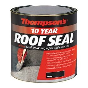Thompson's 10 Year Roof Seal 1L Black 450072