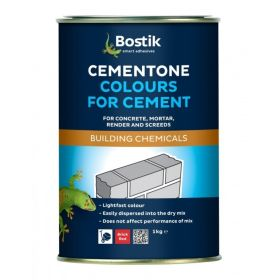 Cementone Colours For Cement 1kg - Brick Red 562540