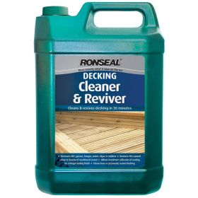 Ronseal Decking Cleaner & Reviver 5L Ready To Use 569666