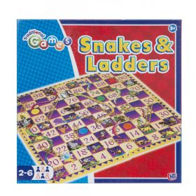 Traditional Games Snakes & Ladders 326125