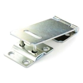 Securit Safety Hasp & Staple Zinc Plated 90mm 536036