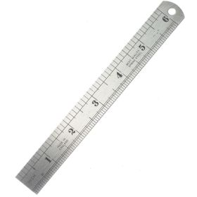 """Fisher Stainless Steel Rule 12""""/300mm 373692"""