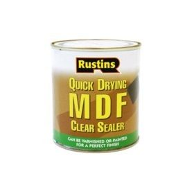 Rustins Quick Drying MDF Clear Sealer 250ml 351526