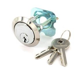 Securit Chrome Plated Spare Cylinder with 3 Keys Universal 484924