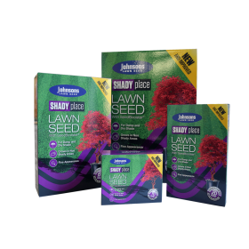 Johnsons Lawn Seed Shady Place 500g Carton 540324
