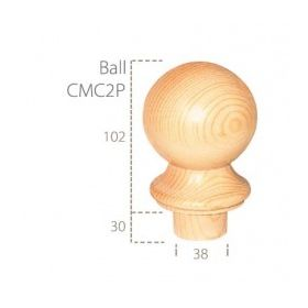 Cheshire Mouldings Pine Ball Cap 725181