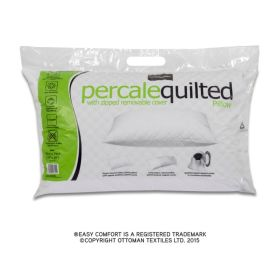 Easy Comfort Percale Quilted Pillow 781659