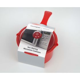 Pendeford Red Sauce Pan & Lid Small 0.6L 312496