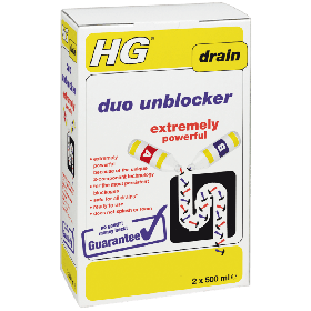 HG Duo Unblocker Extremely Powerful 2 x 500ml 318395