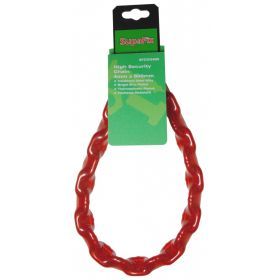 SupaFix High Security Chain 800mm Bright Zinc Plated 4mm 319668