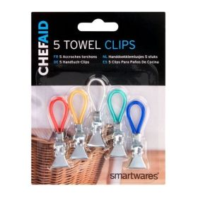 Chef Aid Towel Clips 5 Pack 331929