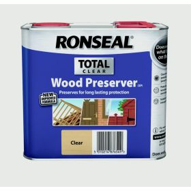 Ronseal Total Wood Preserver 2.5L Clear 348017