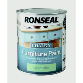 Ronseal Chalky Furniture Paint 750ml Dusky Mint 348405