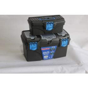 SupaTool Tool Box With Organiser Lid Twin Pack 432mm & 320mm 343912