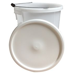 Proplas 28L Plasterers Bucket with Handle White 357894