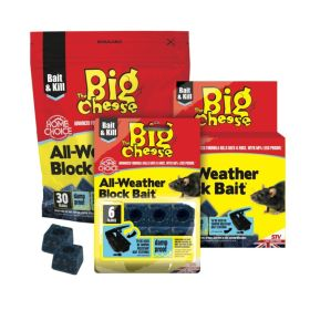The Big Cheese All Weather Block Bait 30x10g 365887