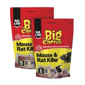 The Big Cheese Rat & Mouse Killer Pack 6 365885