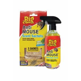 The Big Cheese Anti-Rodent Sachets 5 Pack 365888