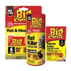 The Big Cheese Mouse Killer 2x25g 367296