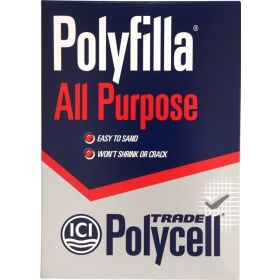 Polycell Polyfilla All Purpose Powdered Filler 2kg Trade 671110