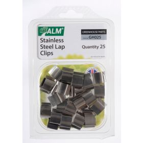 ALM Sprung Glazing Lap Clips Stainless Steel 374646