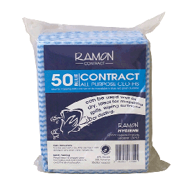 Ramon Contract All Purpose Cloths Pack 50 376726