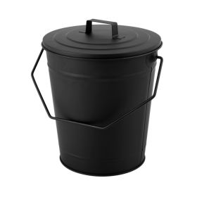 Hearth & Home Coal Bucket With Lid Black 344655