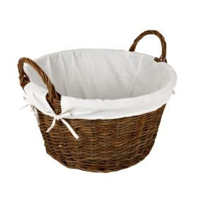Hearth & Home Wicker Log Basket With Removable Liner 344678