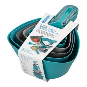 Chef Aid Measuring & Mixing Bowl Set 9 Piece 341978