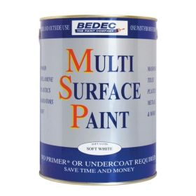 Bedec Multi Surface Paint Anthracite 750ml Soft Gloss 102124