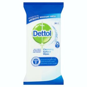 Dettol Surface Wipes Pack 30 103139