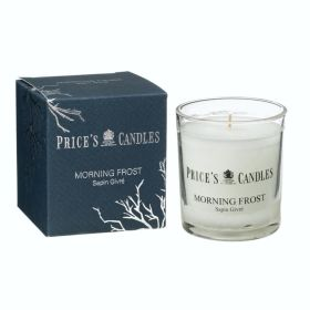 Prices Candle Jar Morning Frost 103994