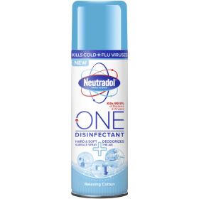 Neutradol One Disinfectant 300ml Spray Relaxing Cotton 104176