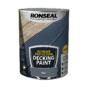 Ronseal Ultimate Protection Decking Paint 5L Slate 104904