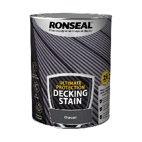 Ronseal Ultimate Protection Decking Stain 5L Charcoal 104909