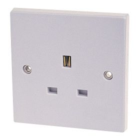 Dencon 13A, Single Socket Outlet to BS1363 Pre-Packed 568885