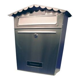 SupaHome Stainless Steel Letter Box 480297