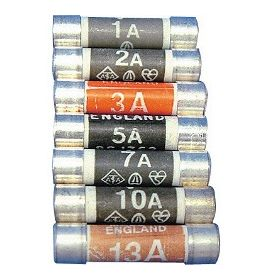 Dencon 3 Amp Fuse to BS1362 Display Card of 72 508380