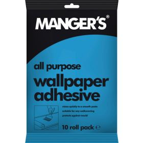 Mangers All Purpose Wallpaper Adhesive 10 Roll 696129