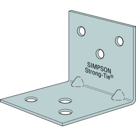 Simpson Strong Tie Light Reinforced Angle Bracket 40 x 40 x 40 333396