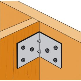 Simpson Strong Tie Light Reinforced Angle Bracket 50 x 50 x 40 333417