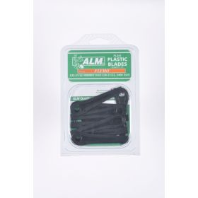 ALM Plastic Blades -  with Small Hole Pack of 10 387478
