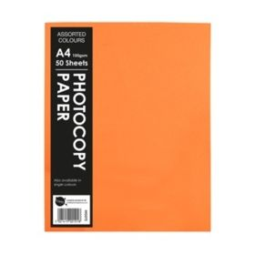 Hi-Glo A4 Photo Fluorescent Copy Paper Pack of 50 620480