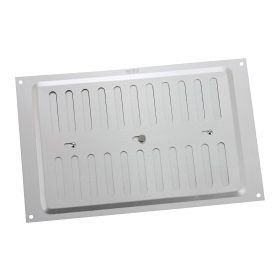 """Map Adjustable 'Hit & Miss' Aluminium Vents - Silver Opening Size: 9"""" x 6"""" - 229 x 152mm 448814"""