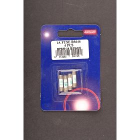 Dencon 1 Amp Fuse to BS646 Bubble Packed (4) 529636