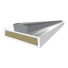 Astroflame Intumescent Seal Fire & Smoke White 15 x 4 x 2100mm 795014