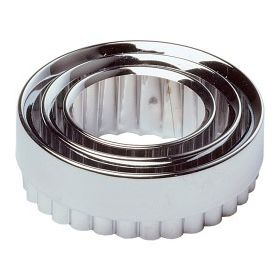 Chef Aid Pastry Cutters Metal (Set of 3) 760729