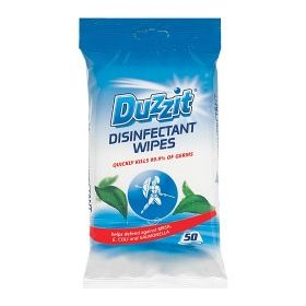 Duzzit Disinfectant Wipes 50 Pack 131479